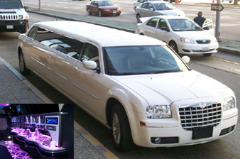 chrylser stretchlimousine mieten limousinenservice. Black Bedroom Furniture Sets. Home Design Ideas